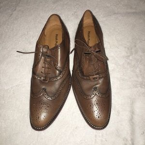 HUSH PUPPIES 9 Brown Men's Loafers